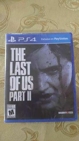 THE LAST OF US part II nuevo/sellado