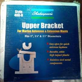 UPPER BRACKET FOR MARINE ANTENNAS EXTENSION MASTS