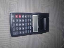 Calculadora Casio Hr-8tm Impresora Lcd 12 Digitos Pequeña