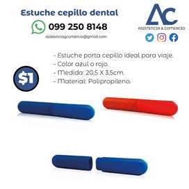 Estuche cepillo dental