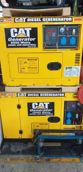 Generador Electrico cat de 8.5 kva