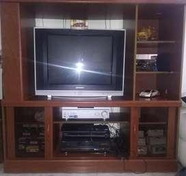tv y centro de entretenimiento