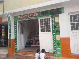 Vendo cafe internet con video juegos