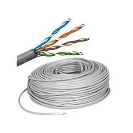 Cable utp cat 5e 100% cobre