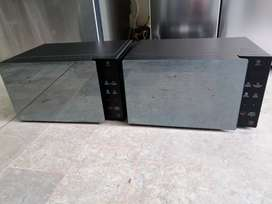 Remate hornos microondas, marca LG de exhibición de almacenes