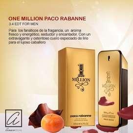 PERFUME HOMBRE ONE MILLON PACO RABANNE 100 ML. ORIGINAL