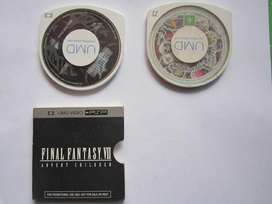 umd video final fantasy psp para coleccion