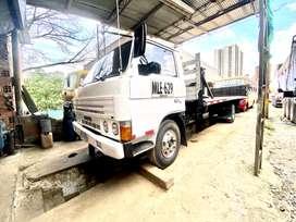 Camión tipo planchon
