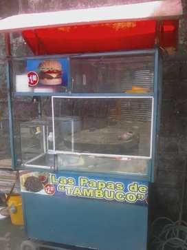 Carreta salchipapera
