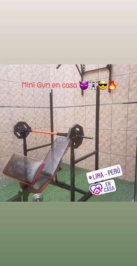 Mini Gym en Casa!