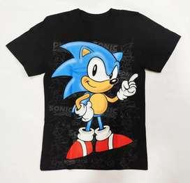 Camiseta Sonic Niño