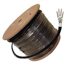 Cable UTP C5E 305 mts Exterior Noganet