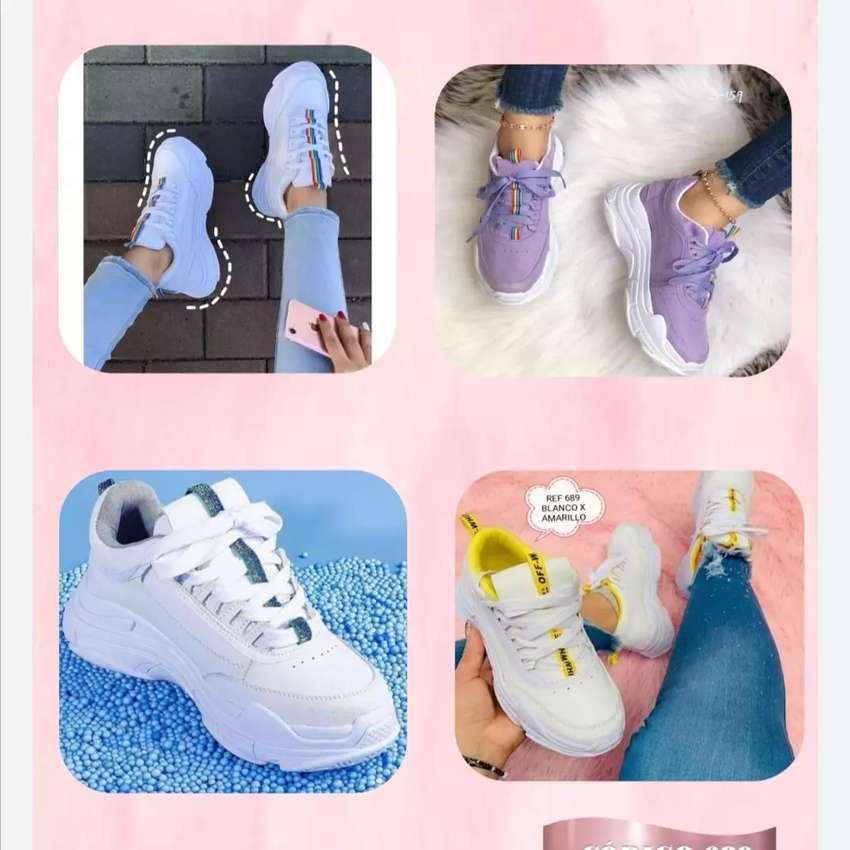 Venta de zapatos para caballero y mujer 1par 80000 2pares 145000