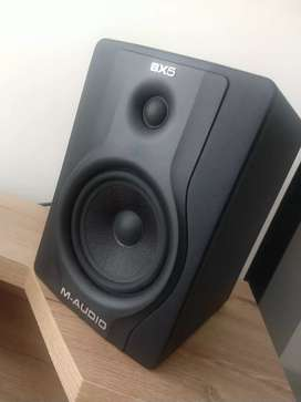 Monitores de estudio M-AUDIO BX5 CARBON BLACK