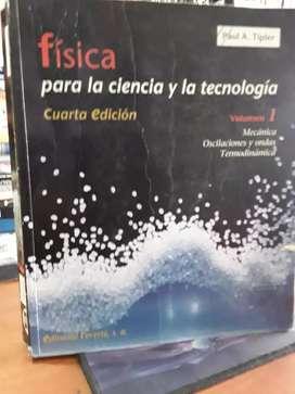 Física cuarta edición tipler mecánica volumen 1 color formato grande buen estado