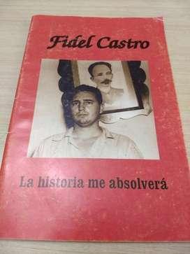 Libro Fidel Castro La Historia Me Absolv