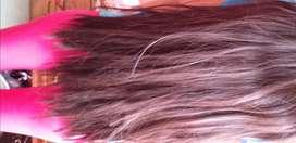 Vendo cabello de 50 cm