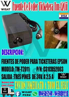 Fuente De Poder Ticketera Epson Tm-t20ii