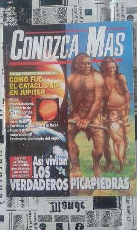 Conozca Mas Numero 70 Año 1994 Así Vivían Los Verdaderos PicaPiedras