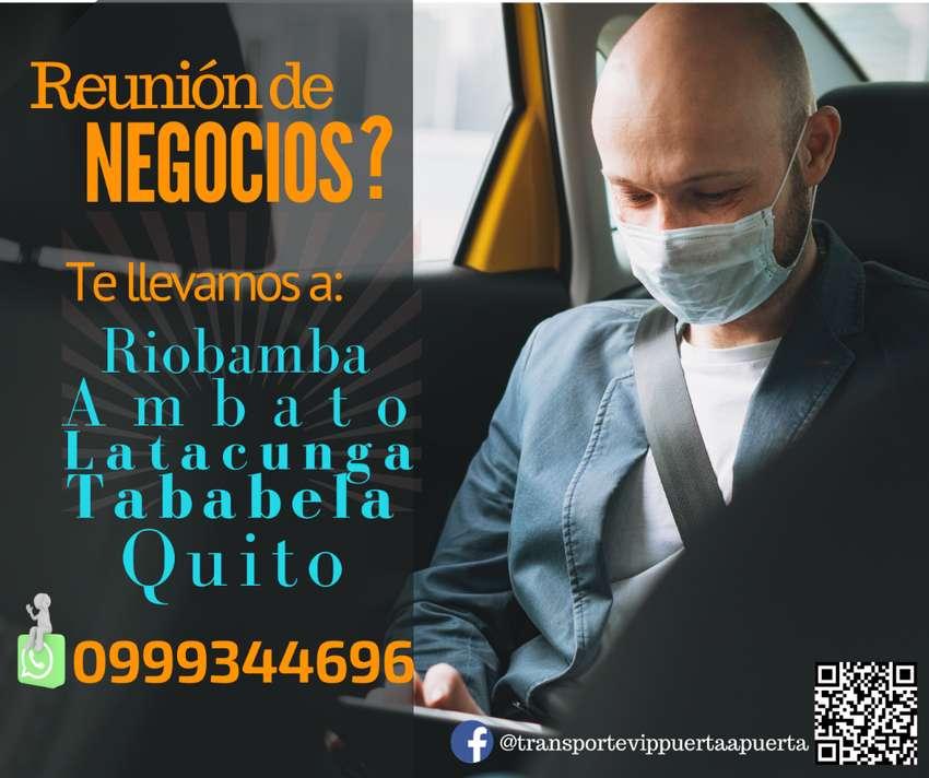 Transporte puerta a puerta Quito Ambato Riobamba 0
