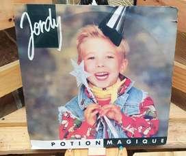 Long Play Lp Disco Acetato Pasta Vinilo Vinyl Jordy pochette surprise y potion magique