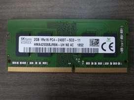 Memoria Ddr4 2GB para portátil
