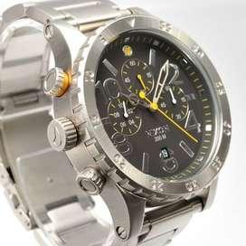 Reloj Nixon The All Black 5130 Chrono A083.001! Excelente!