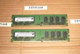 Mt16htf25664ay-800g1 Ram Ddr2 4gb