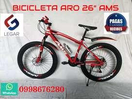 Bicicletas AMS ARO 26 NUEVAS