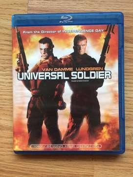 Bluray Original Soldado Universal