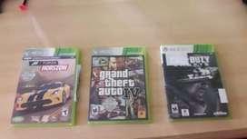 Vendo videojuegos Xbox 360 y play4