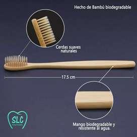 Cepillo de dientes bambú Precio X 1 Americano