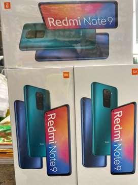 Xiaomi redmi note 9 equipo sellado con garantia