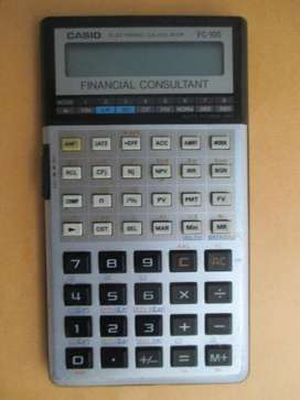 CALCULADORA FINANCIERA CASIO FC-100 - ORIGINAL