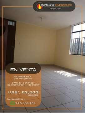 OCASION - VENTA DE DEPARTAMENTO EN AV. COSTA RICA