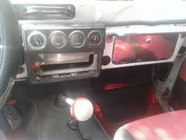 Daihatsu carpado 4*4  modelo 82 color blanco