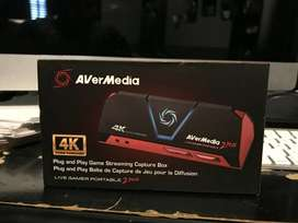Capturadora de Video 4K Avermedia GC511 Liver Gamer Portable 2 FHD PS4 XBOX VIDEO