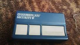 Control Abre Puertas Chamberlain Security 653CB GARAGE