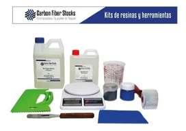 Kit Básico De Trabajo Resina Epóxica Para Madera Y Artesanía
