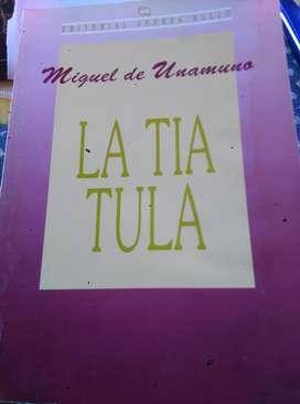 La Tia Tula, Miguel de Unamuno