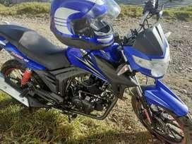 Moto nueva barsha plusor 150 super conservada sin uso 40 km de recorrido