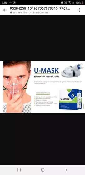 Mascara protectora super filtración
