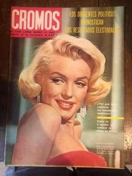 Coleccion revista cromos de 1955 a 1975
