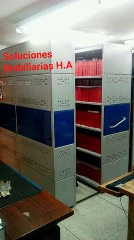 Archivo Rodante Tres Unidades de Consult