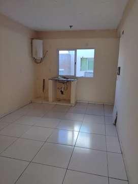 Departamento de un dormitorio arbo y blanco 1445.