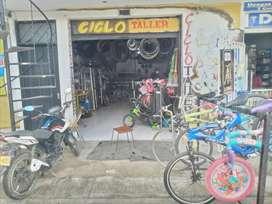 Se vende o se permuta bicicleteria