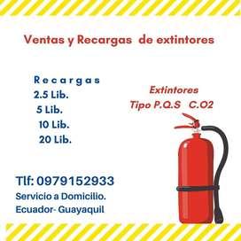 Recargas de extintores