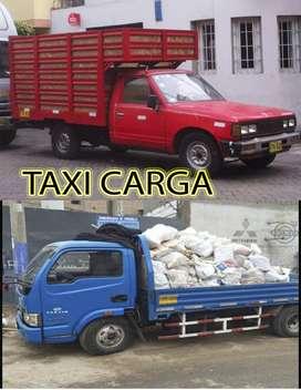 taxi carga liviana, eliminación de desmonte