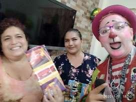 Payasito, Fiestas, cumpleaños, Animaciónes, Muñequitas