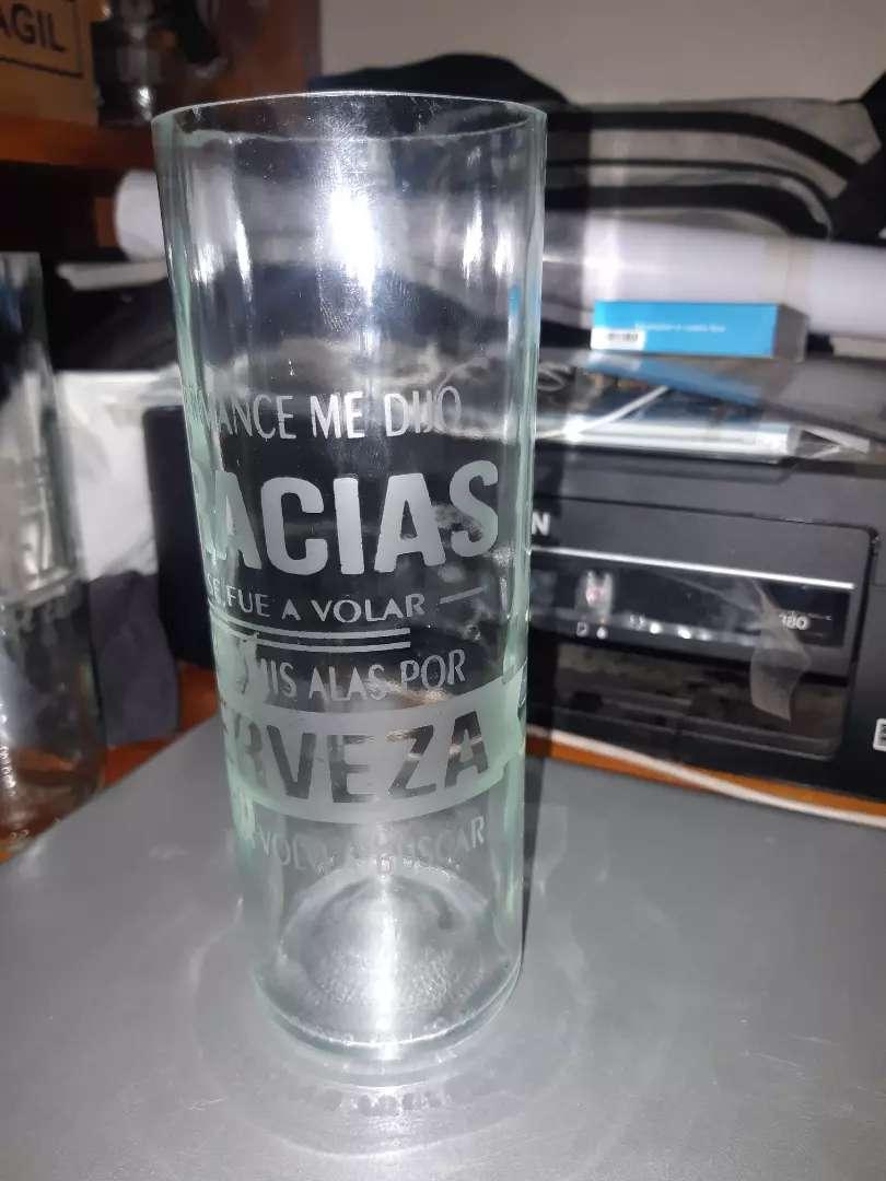 vendo vasos grabados 0